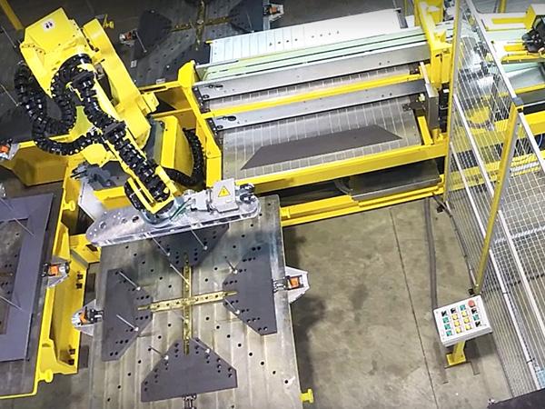 机器人叠片