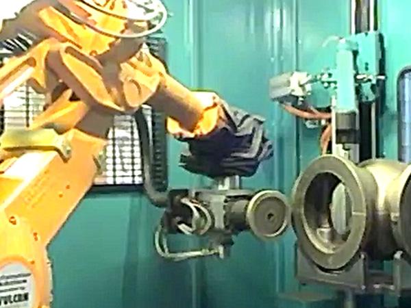 阀门管件打磨机器人