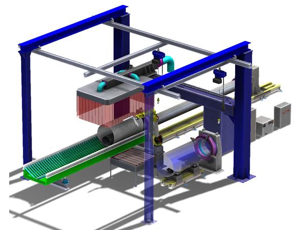 高压壳体切割项目数模截图